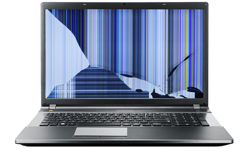 damaged cracked laptop screen repair medway