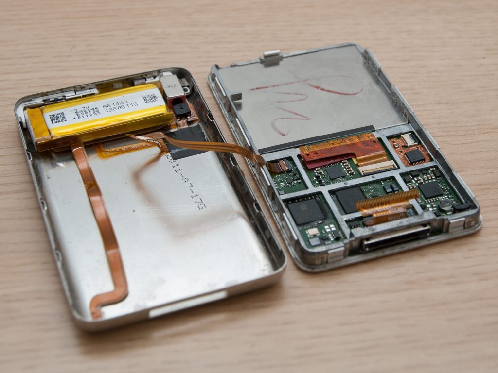 iPod classic battery replacement