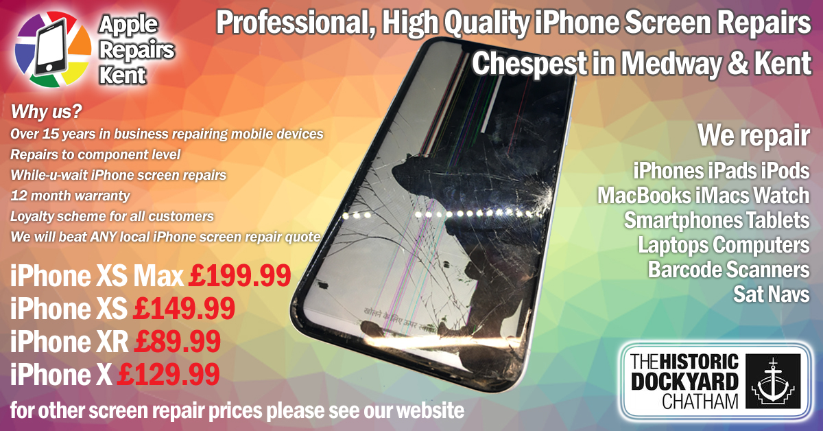 iPhone Screen Repairs Medway